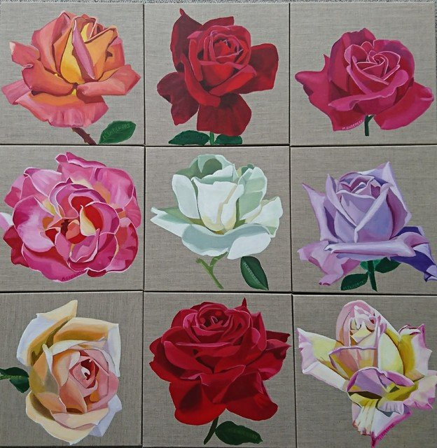 Exhibition Preview: Tribute to Treloar Roses