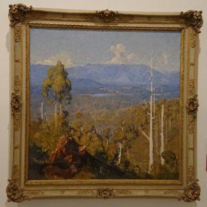 The vanishing forest - Arthur Streeton